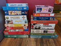 bundle of jigsaw puzzles. these are unchecked. the price is for all. in Lakenheath, UK