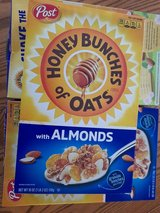 Honey Bunches Cereal with Almonds 3ea (new) in Ramstein, Germany
