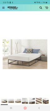 140 cm x 200 cm x 25.5 cm bed frame in Ramstein, Germany