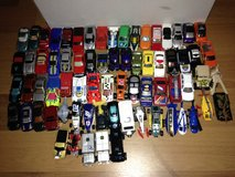 mixed lot of 72 diecast cars Hot Wheels Matchbox etc in The Woodlands, Texas