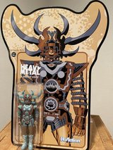 "Heavy Metal Super7 Reaction Figure ""Lord of Light"" action figure in Okinawa, Japan"