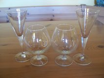 Set of Champage and Brandy Glasses in Wiesbaden, GE