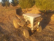 Old Sears Craftsman Tractor in Alamogordo, New Mexico