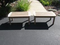 Kingsley Bate Teak Coffee Table/Bench-ONLY ONE FOR SALE in Naperville, Illinois