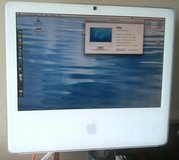 """Apple iMac 17"""" white Late-2006, 4GB RAM, 160 HDD, MacOS X.7 & Win7 in Fort Lewis, Washington"""