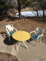 Child's Garden Table and Chairs in Fort Carson, Colorado