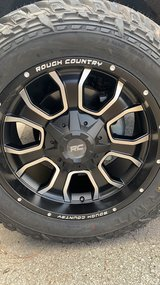 Set of 33's new Fuel Gripper and Rough Country Rims in Cherry Point, North Carolina