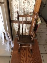 doll rocking chair in Glendale Heights, Illinois