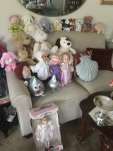 Dolls and stuffed animal collection in Travis AFB, California