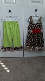 Girls size 6/6X Brand new Boutique outfit never worn in Morris, Illinois