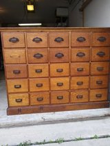 Antique 25 Drawer Apothecary Cabinet in Tomball, Texas