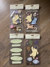 New! Winnie the Pooh Dimensional Stickers 4-pack in Westmont, Illinois