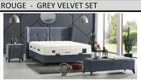United Furniture - Rouge QS bed in Euro Size Including Mattress and Delivery in Ansbach, Germany