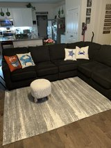 charcoal 3 piece sectional in Camp Lejeune, North Carolina