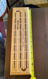 Vintage Cribbage Board in St. Charles, Illinois