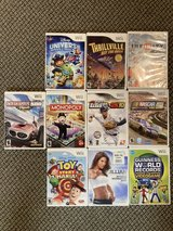 Wii Games in St. Charles, Illinois