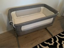 bedside bassinet with drop side in Spangdahlem, Germany