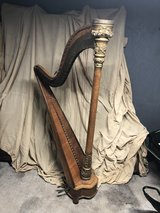 Antique pedal Harp made by O.F. Dwight #209 in Schaumburg, Illinois