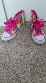 JOJO siwa size 3 new condition shoes maybe wore one time in Morris, Illinois