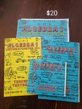 Teaching Textbook Algebra 1 cd sets and answer key & test bank in Lackland AFB, Texas