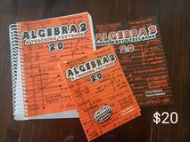 Teaching Textbook Algebra2  2.0 cd set and answer key & test bank and student book in Lackland AFB, Texas