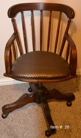 Antique Student Desk Chair in Tomball, Texas