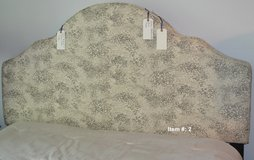 Queen side fabric head board in Tomball, Texas