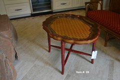 Vintage Oriental coffee tabke in Tomball, Texas