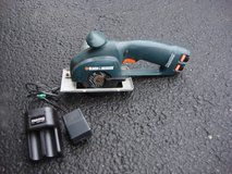 """BLACK & DECKER 7.2 VOLT 3 """" CIRCULAR SAW., BATTRIES AND CHARGER in Plainfield, Illinois"""
