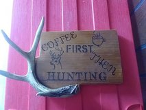 hunting sign in Fort Campbell, Kentucky