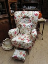 Upholstered armchair 1950 armchair wing chair back chair in Baumholder, GE