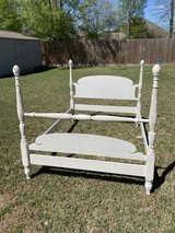 Reduced to $100 Vintage Distressed Double Bed in The Woodlands, Texas