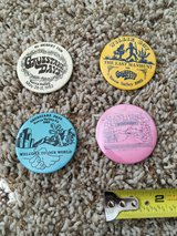 Yucca Valley Grubstakes Pins: 1982, 1983, 1985, and 1987 in Yucca Valley, California