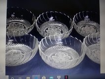 Vintage glass bowls in Fort Campbell, Kentucky