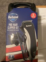 Barbasol Pro Hair Clipper (10 Piece Set) with case *** NEW *** in Tacoma, Washington