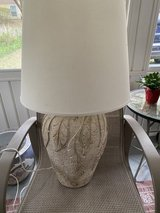 Cream color lamp for sale in Beaufort, South Carolina