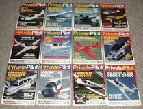 Vintage 1994 Private Pilot Magazine ALL 12 Issues Jan - Dec Aviation Aircraft in Morris, Illinois