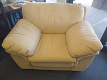 Cream Faux Leather Chair in St. Charles, Illinois