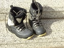 snowboard-boots- good condition, male, size 9 (9  1/2) in Baumholder, GE