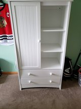 Armoire and changing table in Naperville, Illinois