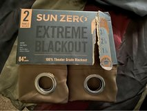 Sun Zero extreme blackout Curtains brown in Fort Carson, Colorado