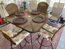 High porch - patio table and chairs in Beaufort, South Carolina