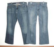 2 Pairs Old Navy Boot Cut Jeans Low Waist & Ultra Low Waist Women's 10 x 28 in Morris, Illinois