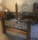 Queen bed frame in Fort Campbell, Kentucky