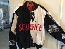 Scarface jacket in Lackland AFB, Texas