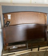 Bed Frame - Queen Size with Box Spring and Mattress in Rolla, Missouri