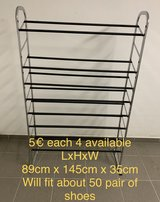 Shoe rack 4 available in Spangdahlem, Germany