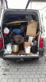 TRASH & LOCAL MOVING /PCS/PICK UP & DELIVERY/ YARD 01523 7605502 on WhatsApp 015210141323 kc in Ramstein, Germany