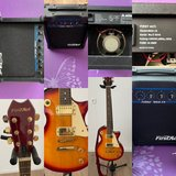 First Act Guitar and Amplifier learners set in Stuttgart, GE