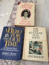 President Kennedy and Rose Kennedy Books in Travis AFB, California